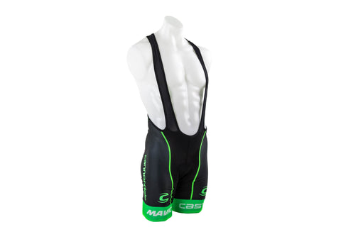 Castelli Men's Cannondale Volo Cycling Bibshort // Road Bike Bicycle-Men's Cycling Apparel > Shorts / Bib Shorts-Castelli-Small-The Racery