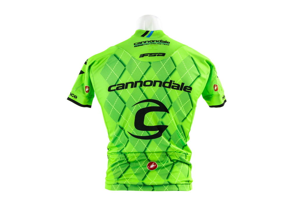 Castelli Men's Cannondale Team 2.0 Cycling Jersey // Road Bike Bicycle-Men's Cycling Apparel > Short Sleeve Jerseys-Castelli-Small-The Racery