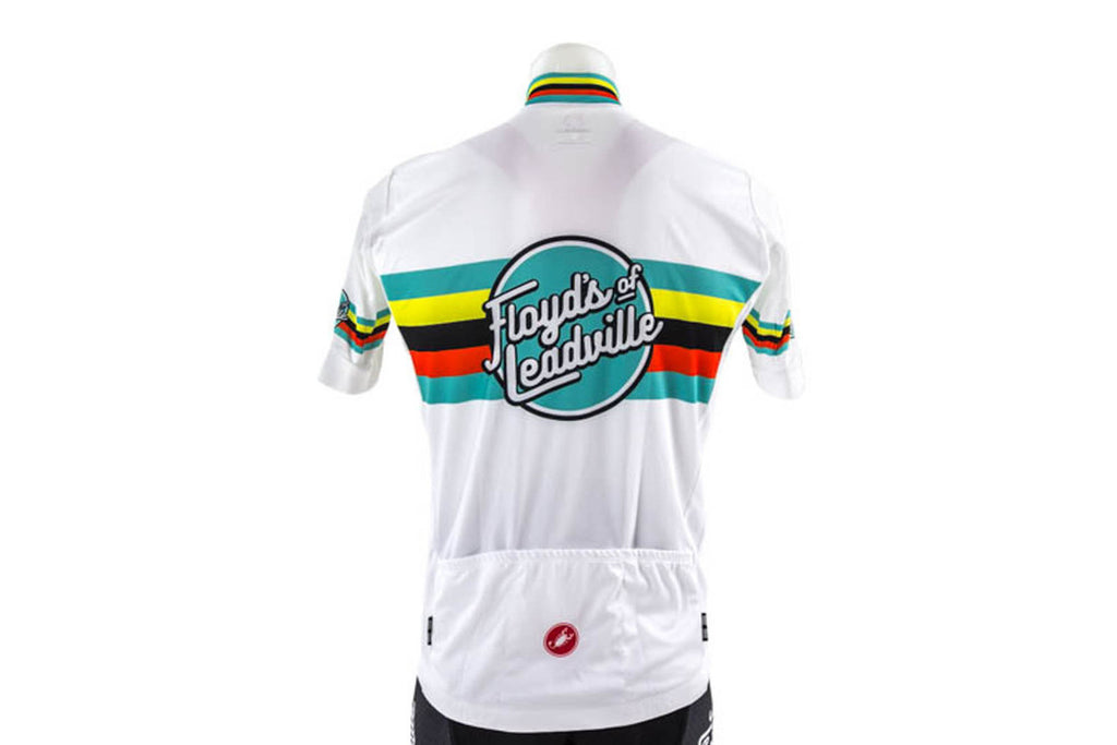 Castelli Men's Floyd's of Leadville Team Cycling Jersey // Road Bike Bicycle-Men's Cycling Apparel > Short Sleeve Jerseys-Castelli-Small-The Racery