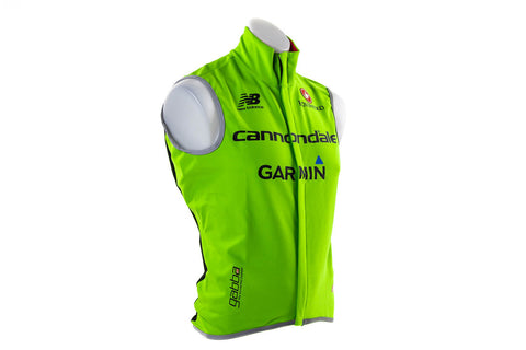 XXL Castelli Cannondale Garmin Fawesome 2 Wind Vest / Road Mountain Bike Bicycle-Default-Castelli-Default-The Racery