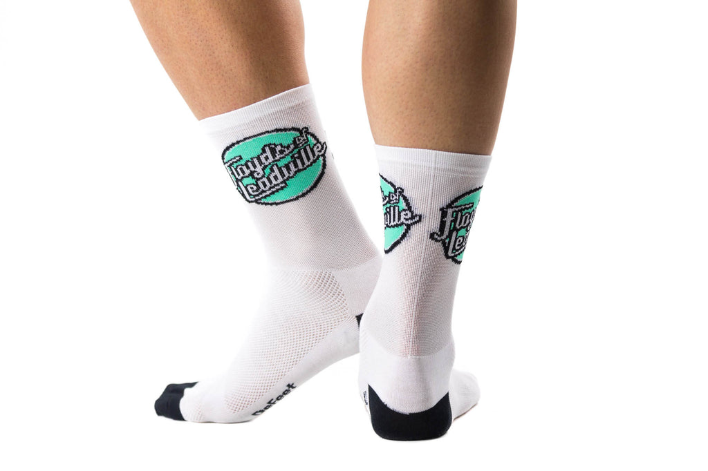 Defeet Floyd's of Leadville Cycling Socks // Road Mountain Cyclocross Bicycle-Men's Cycling Apparel > Socks-DeFeet-Small-The Racery