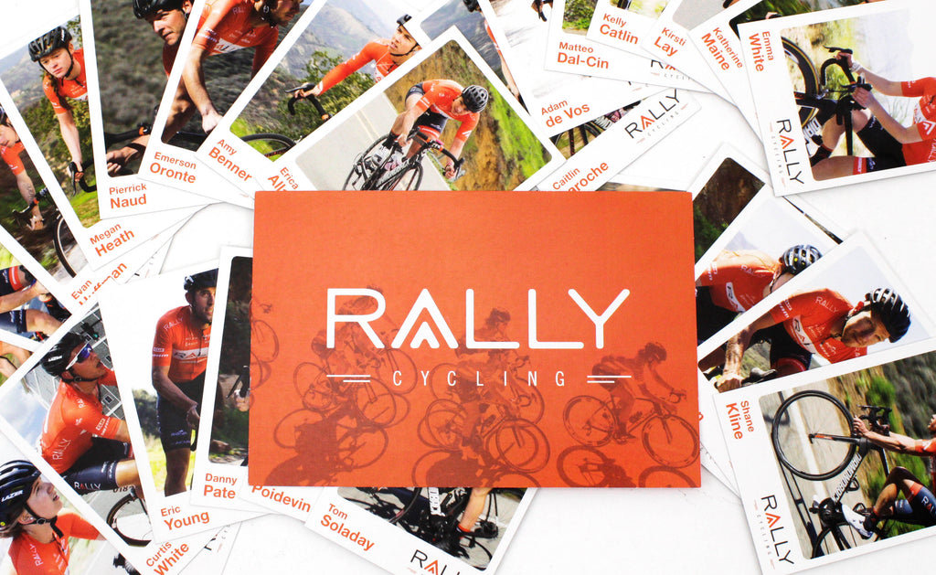 Rally Cycling Team Riders Trading Cards