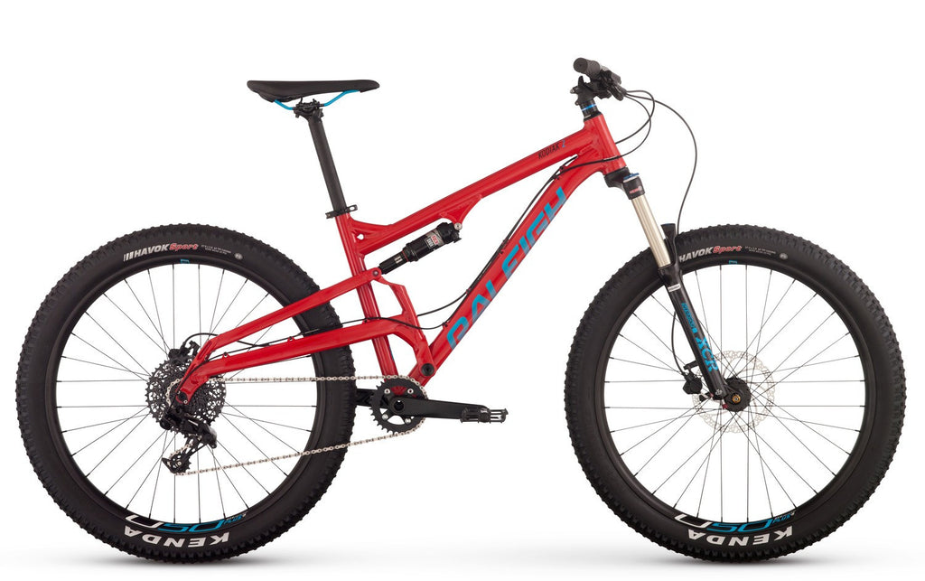 Kodiak 2 SRAM NX-Mountain Bikes-Raleigh-15-The Racery
