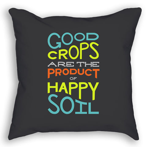 Good Crops Illustrated Pillow
