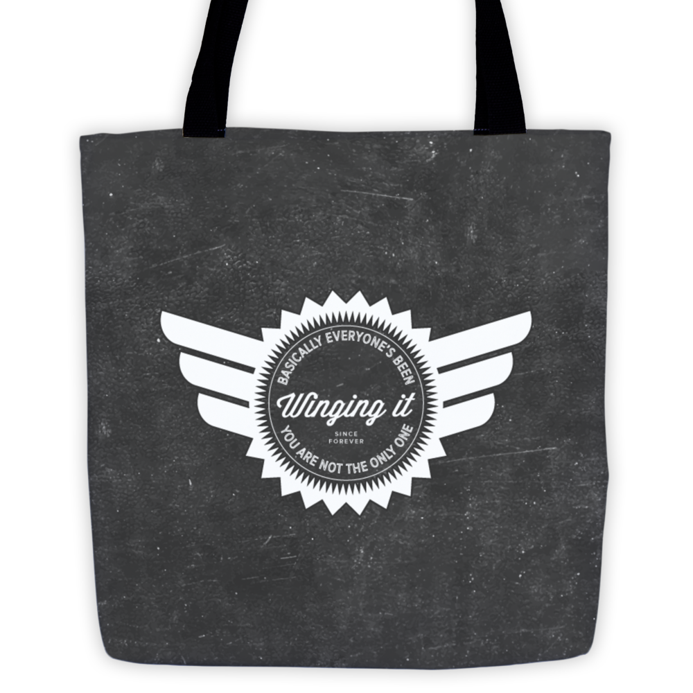 winging it tote image