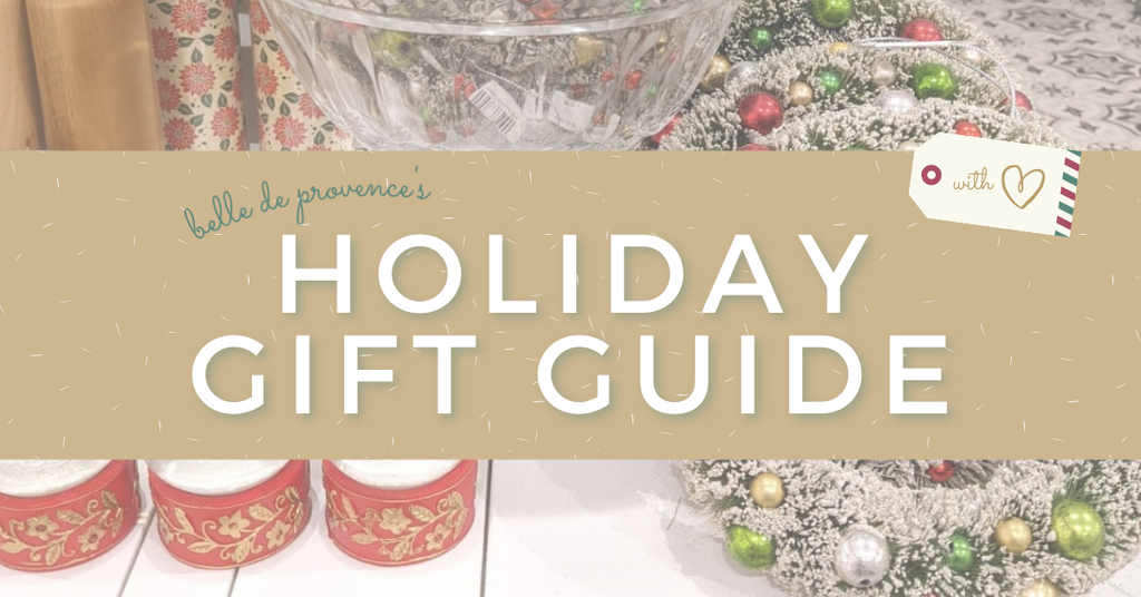 Belle's Holiday Gift Guide