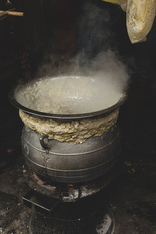 Traditional cauldron used for boiling (Pexel Image)