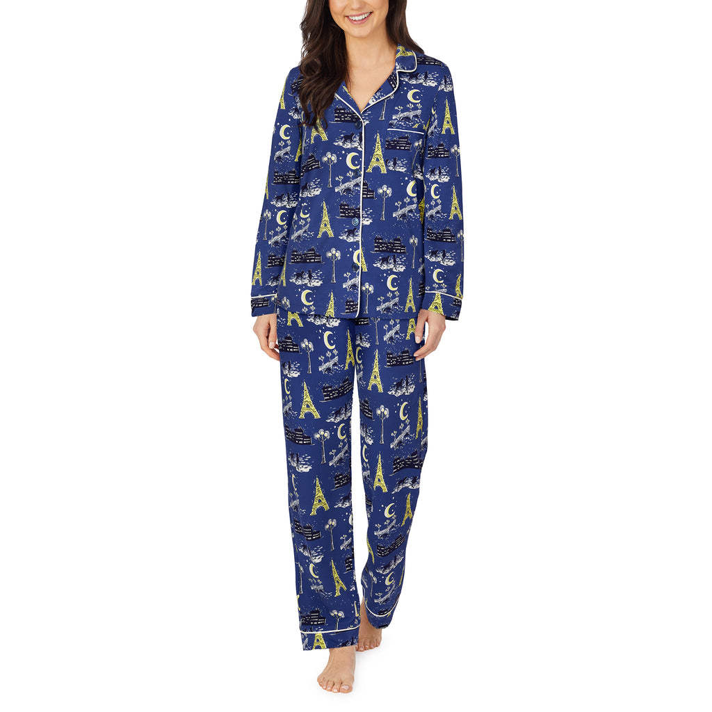 Bonne Nuit Long Sleeve Classic PJ Set