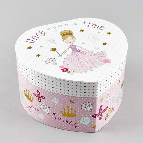 Musical Jewellery Box - Princess - Belle De Provence