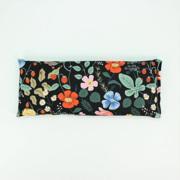 Black Floral Eye Pillow - Belle De Provence