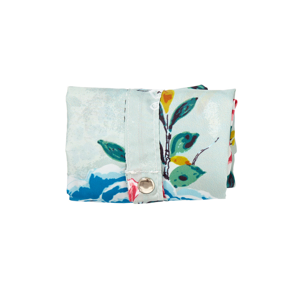 Floral Roll-Up Reusable Bag - Belle De Provence
