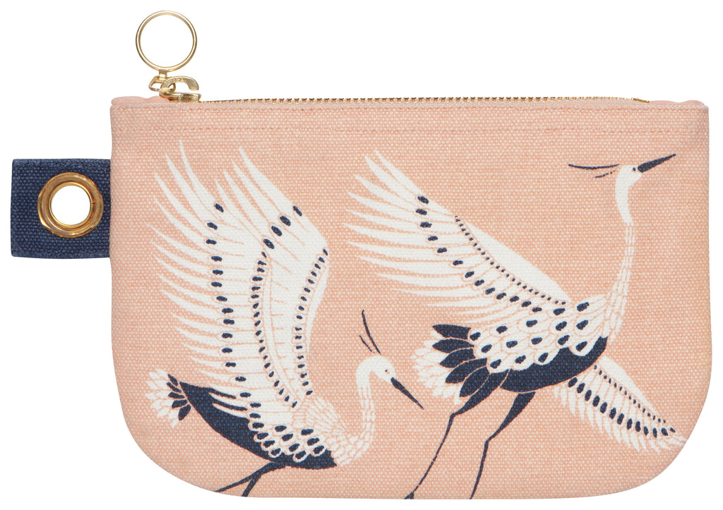 Flight Fancy Small Zip Pouch - Belle De Provence