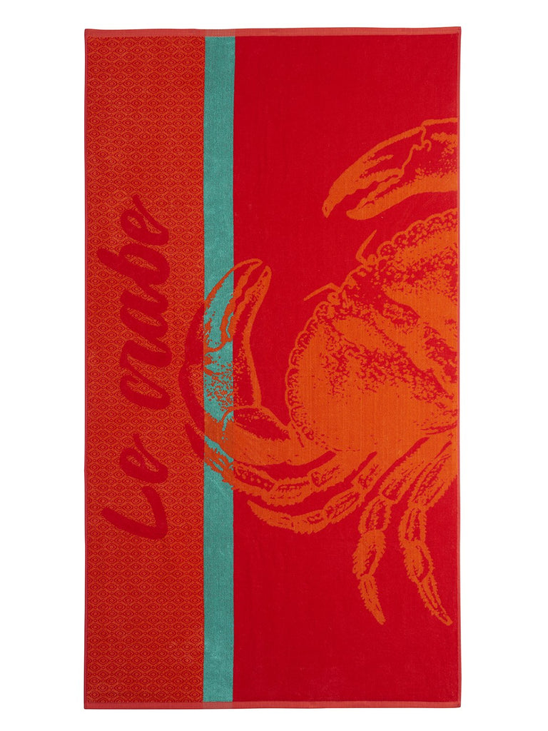 Crabe Tea Towel - Belle De Provence