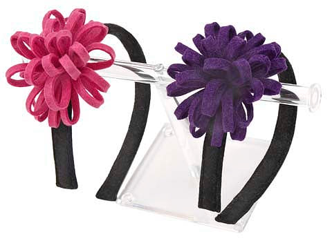 Large Felt Flower Headband - Belle De Provence