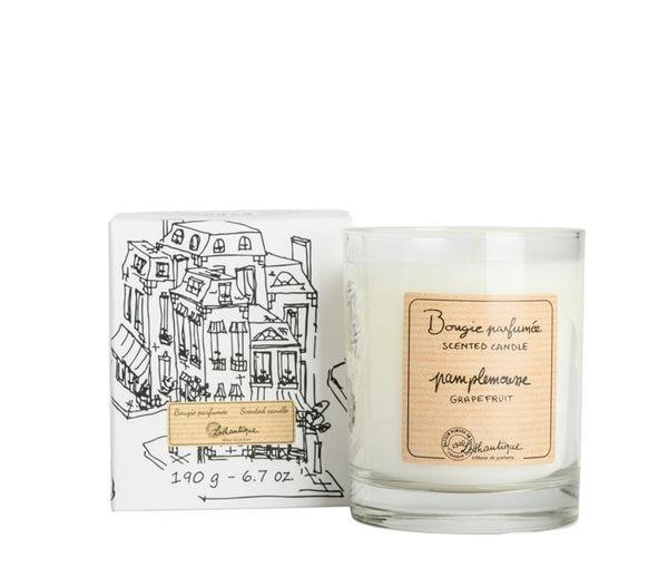 Authentique Grapefruit Scented Candle - Belle De Provence