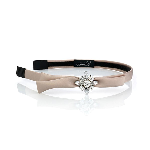 Satin Crystal Hairband - Belle De Provence