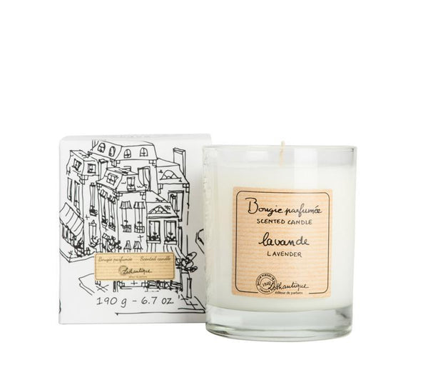 Authentique Lavender Scented Candle - Belle De Provence