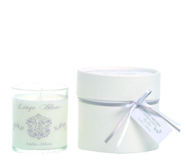 Linge Blanc Scented Candle - Belle De Provence