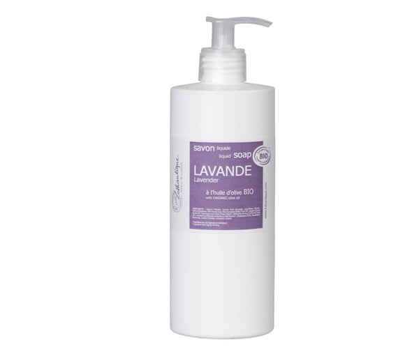 Organic 500mL Lavender Liquid Soap - Belle De Provence