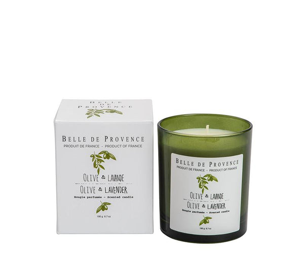 Olive Lavender Scented Candle