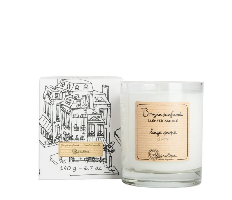 Authentique Linen Scented Candle - Belle De Provence