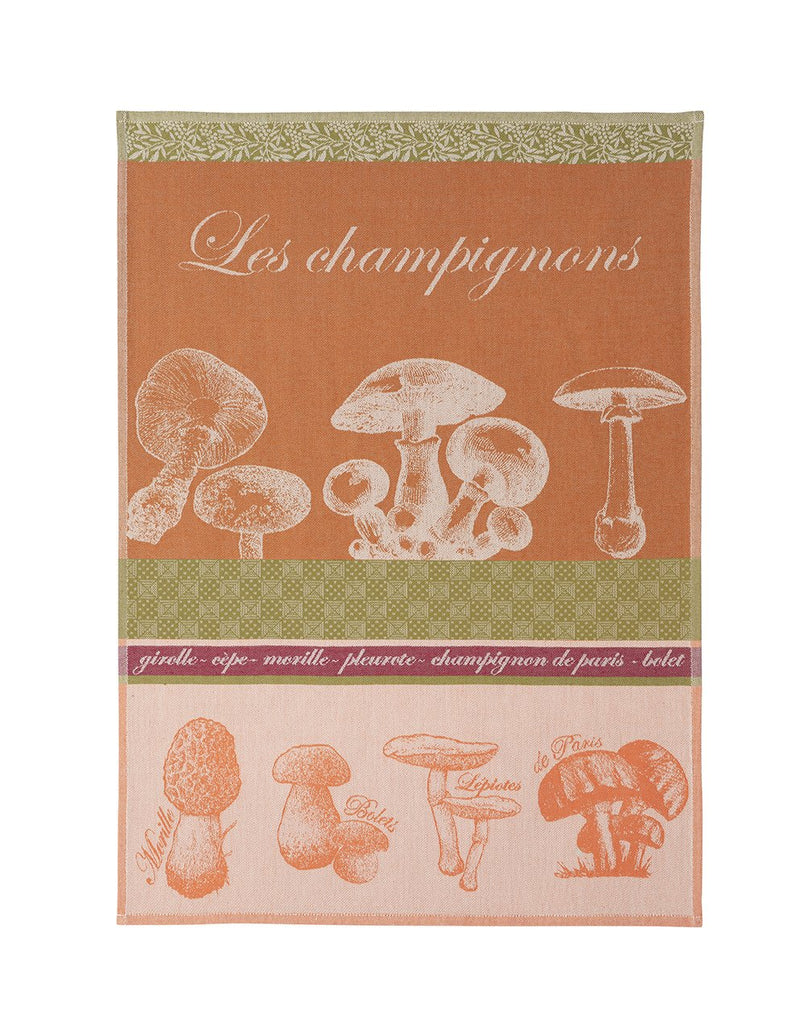 Mushrooms Tea Towel - Belle De Provence