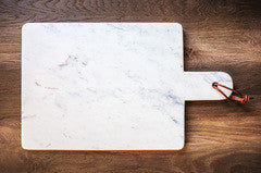 "Caravan Marble Large Paddle Cheese Board 14""x11"""