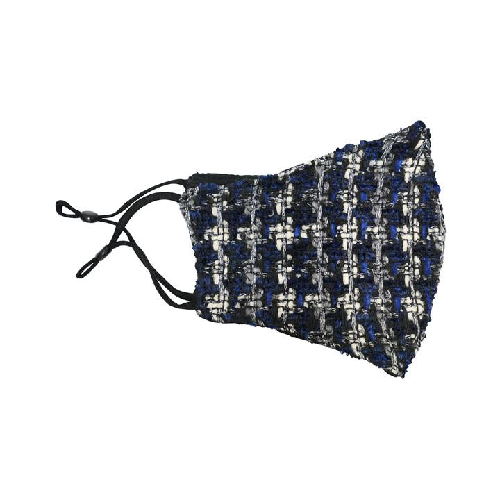 Blue Tweed Mask
