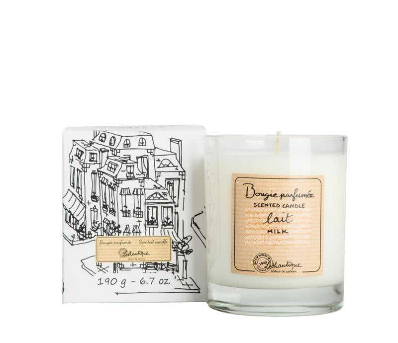 Authentique Milk Scented Candle