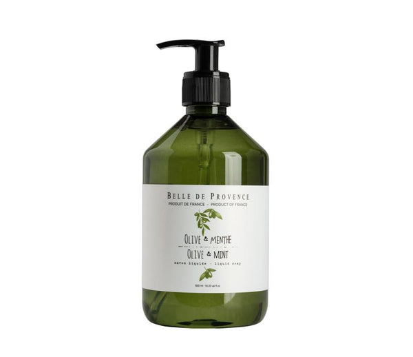 Olive Mint Liquid Soap - Belle De Provence