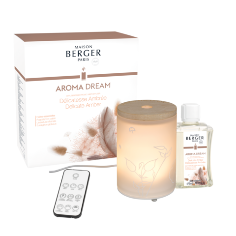 Maison Berger - Aroma Dream Mist Diffuser Set- Delicate Amber