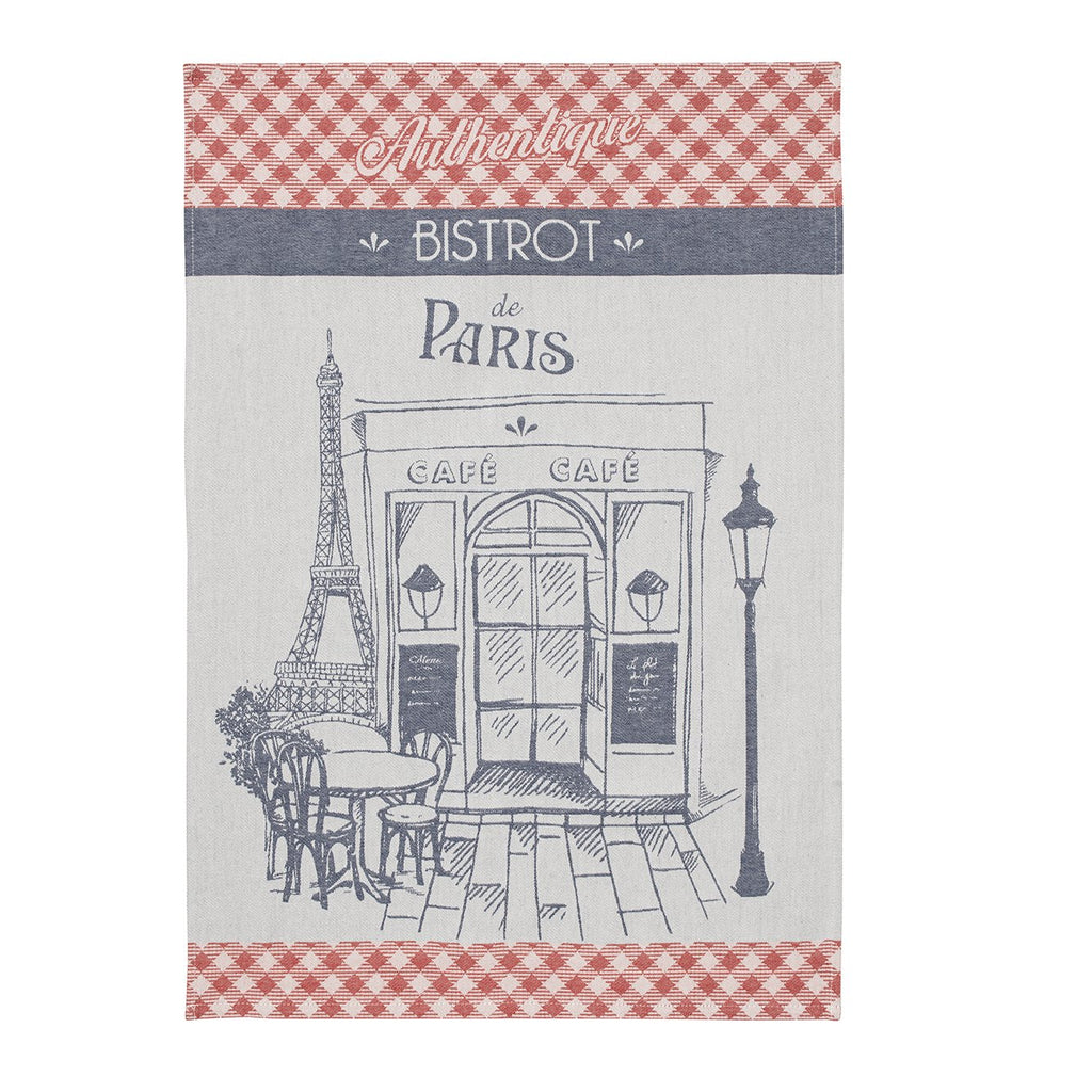 Authentique Bistrot Tea Towel - Belle De Provence