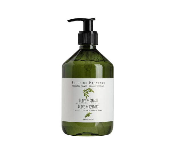 Olive Rosemary Liquid Soap - Belle De Provence