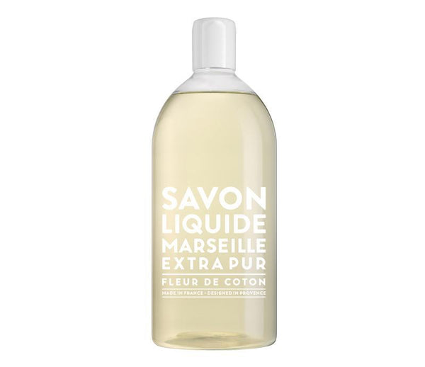 Extra Pure Cotton Flower Liquid Soap Refill - Belle De Provence