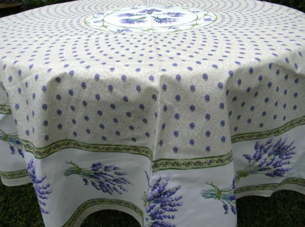 Le Cluny - Tablecloth Lavender Creme