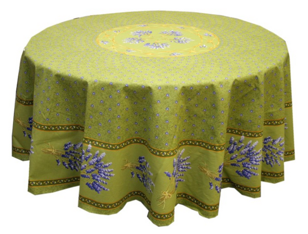 Le Cluny - Tablecloth Lavender Green - Belle De Provence