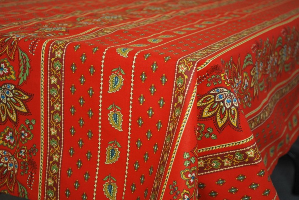 Le Cluny - Tablecloth Lisa Red