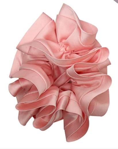 Satin Trim Scrunchies - Belle De Provence