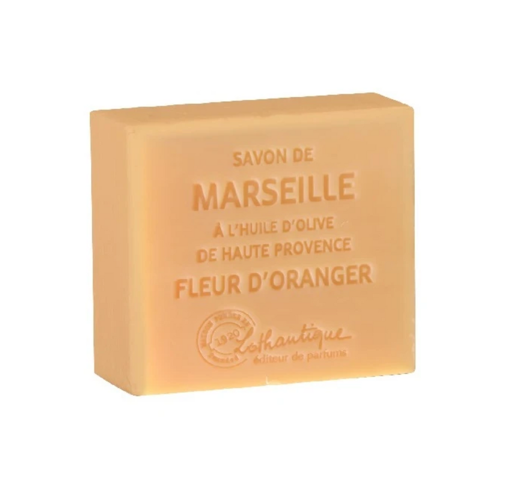 Savon de Marseille Orange Blossom 100g Soap - Belle De Provence