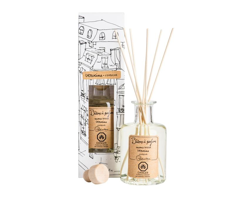 Authentique Verbena Fragrance Diffuser - Belle De Provence