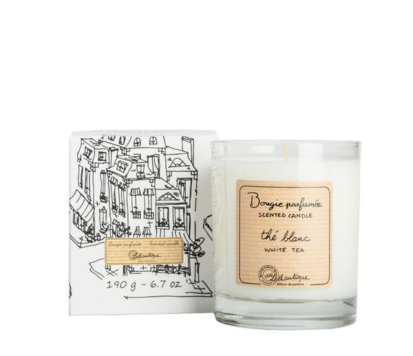 Authentique White Tea Scented Candle - Belle De Provence