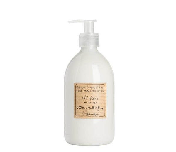 Authentique White Tea Hand & Body Lotion - Belle De Provence