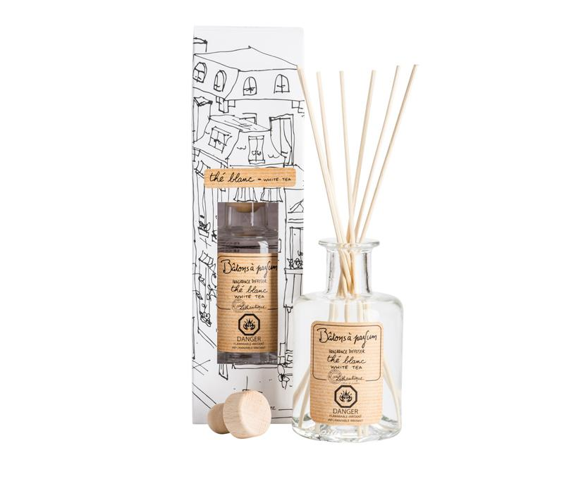 Authentique White Tea Fragrance Diffuser - Belle De Provence