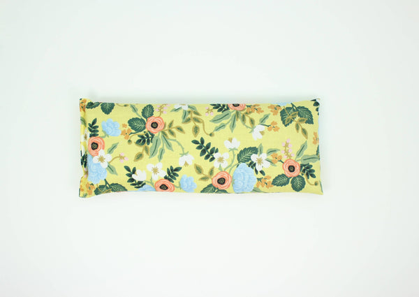 Yellow Floral Eye Pillow - Belle De Provence