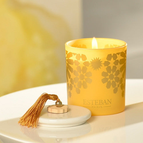 Amber Decorative Scented Candle