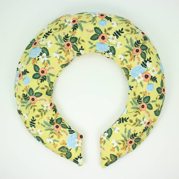Yellow Floral Neck Wrap - Belle De Provence
