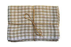 Caravan Linen Gingham Tea Towels 20x30