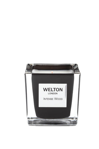 Welton London Scented Candle Intense Wood