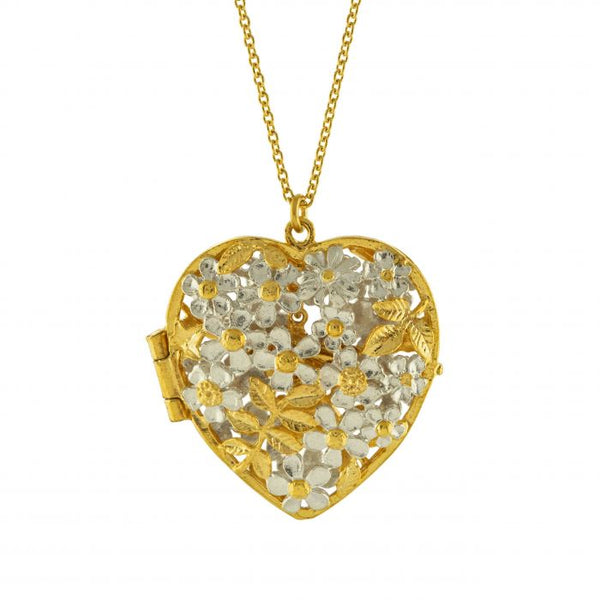 Alex Monroe - Posy Bloom Bee Locket