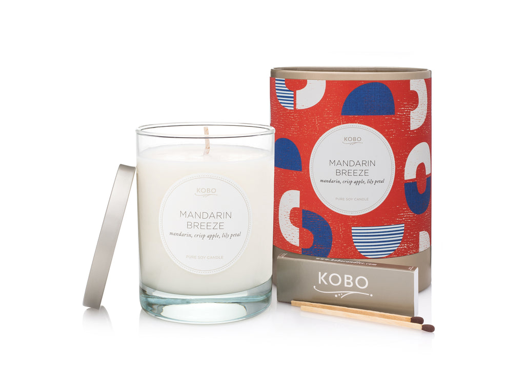 Mandarin Breeze Scented Candle